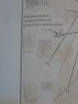 Particolare dell'Orologio Solare del Circolo Astrofili di Tradate - (VA)