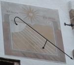 Orologio solare - Castello di Chillon (CH)