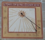 Orologio solare - Losanna (CH)