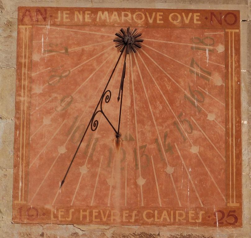 Orologio solare, Palazzo del Vescovo - Losanna