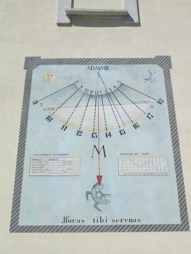 Orologio Solare a Carugate