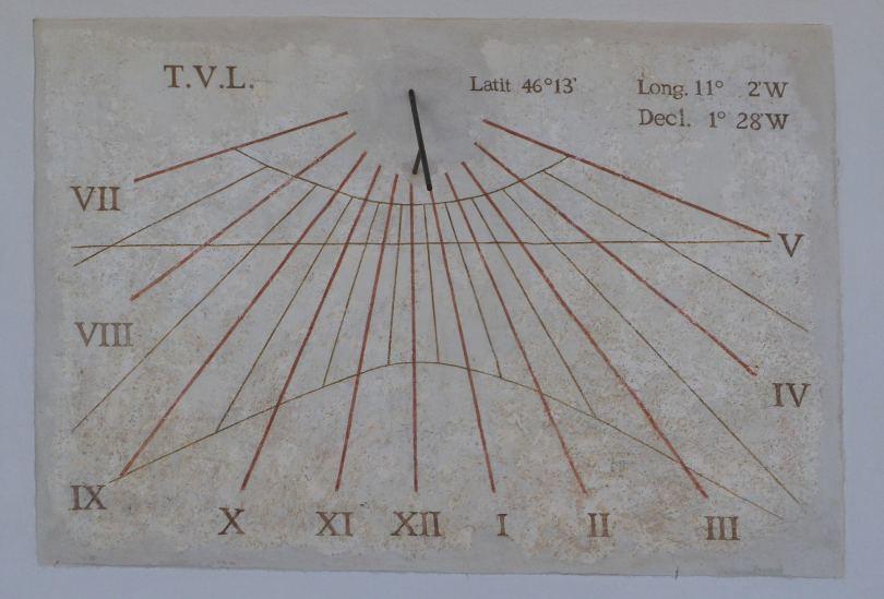 data di rilascio b2769 2fabd Orologio Solare Spormaggiore (TN)   Articoli di astronomia