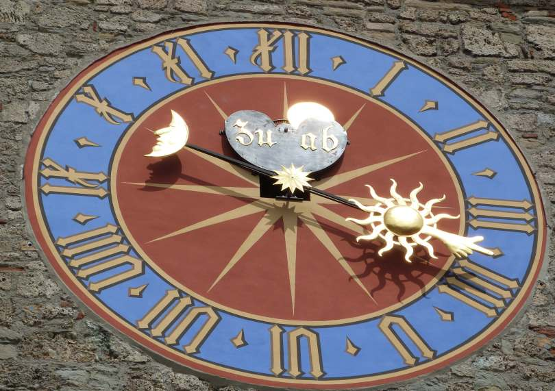 Orologio con fasi lunari - Lucerna (LU)