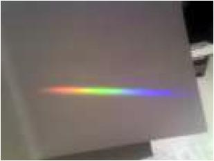 Rifrazione della luce in un prisma