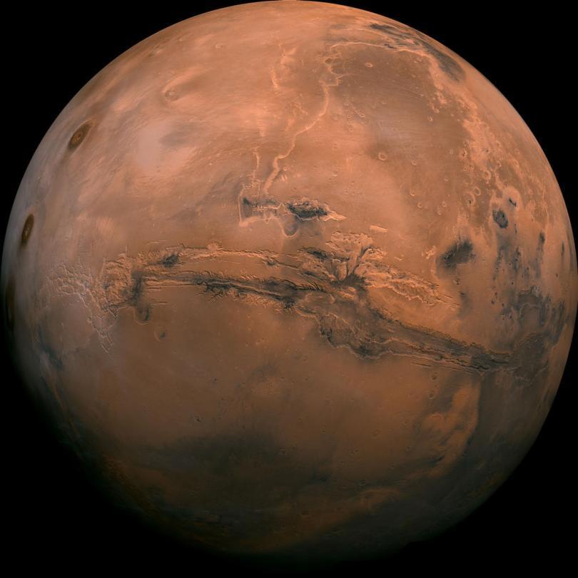 Mosaico di immagini di Marte: progetto Viking - Fonte: nasa.gov