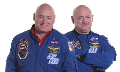 I gemelli Scott e Mark Kelly